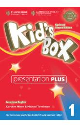 Kid´s Box 1 Presentation Plus DVD-ROM American English,Updated 2nd Edition