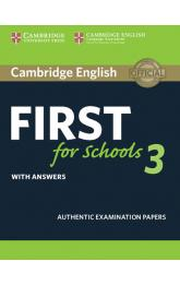 Cambridge English First for Schools 3 Student´s Book with Answers