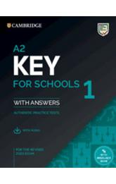 A2 Key for Schools 1 for revised exam from 2020 Student´s Book Pack (Student´s Book with answers with Audio)