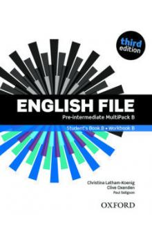 English File Third Edition Pre-intermediate Multipack B (without CD-ROM)