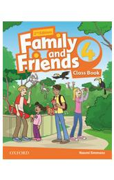 Family and Friends 4 Course Book (2nd)