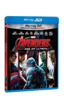 Avengers: Age of Ultron 2 Blu-ray (3D+2D)