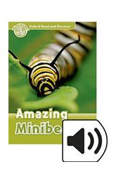 Oxford Read and Discover Level 3: Amazing Minibeasts with Mp3 Pack