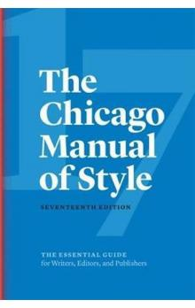 The Chicago Manual of Style