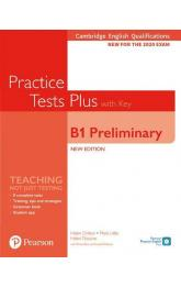 Practice Tests Plus B1 Preliminary Cambridge Exams 2020 Student´s Book + key