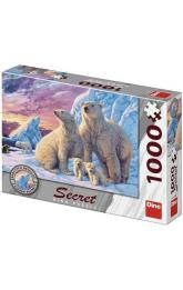 Lední medvědi 1000 secret collection Puzzle nové