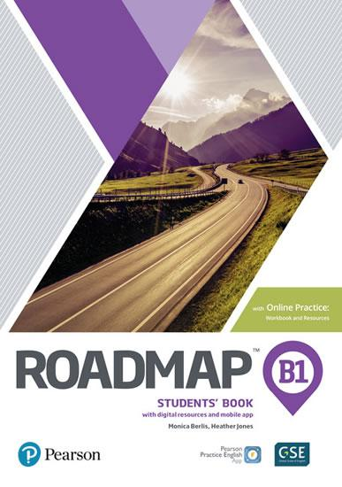 Roadmap B1 Pre-Intermediate Students´ Book with Online Practice, Digital Resources & App Pack