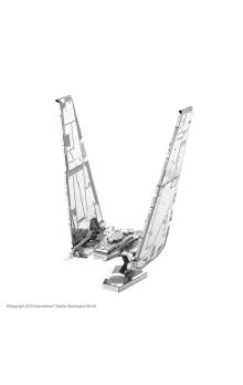 Metal Earth 3D puzzle: Star Wars Kylo Ren´s Command shuttle