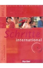 Schritte international 2 -- Paket - KB + AB mit Audio-CD + Gloss.