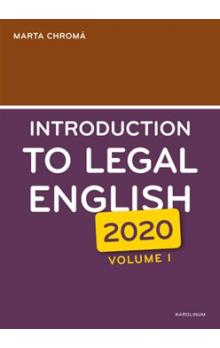 Introduction to Legal English Volume I.